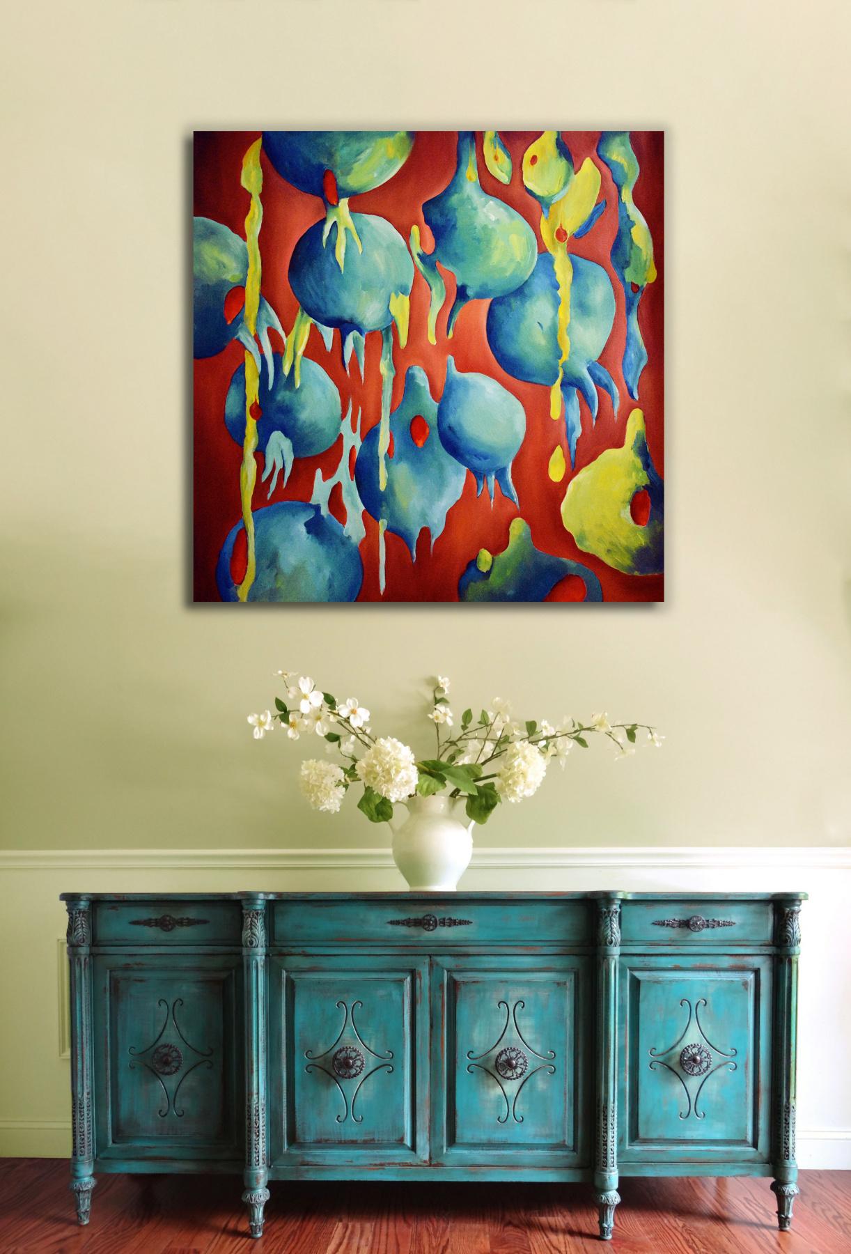ABUNDANCE - original oil painting