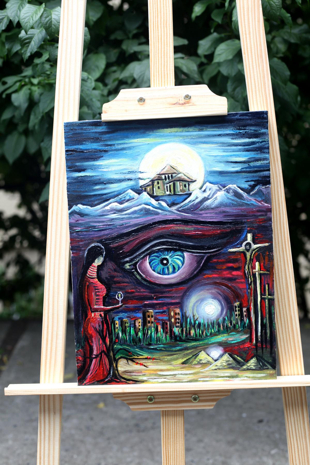 Michael Tchitchinadze (13). Art Intimate - canvas 40 x 30. oil. Price 550 dollars