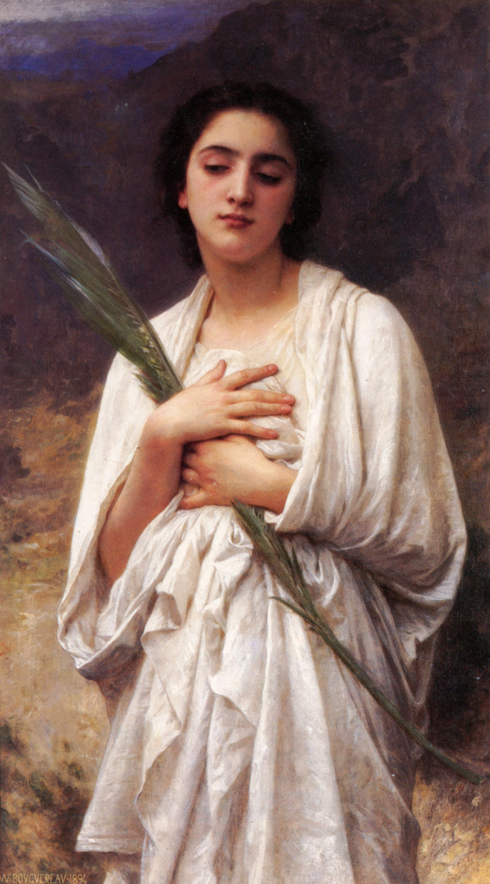 William-Adolphe Bouguereau. Palm