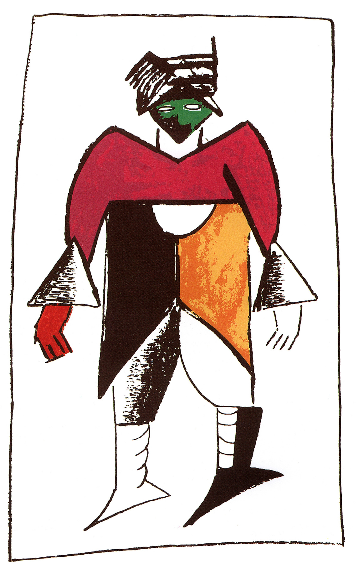"Kazimir Malevich. Suit ""New man"""