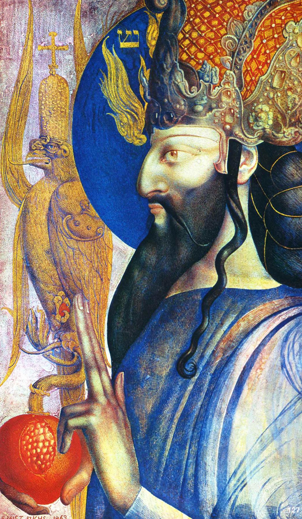 Ernst Fuchs. King Solomon