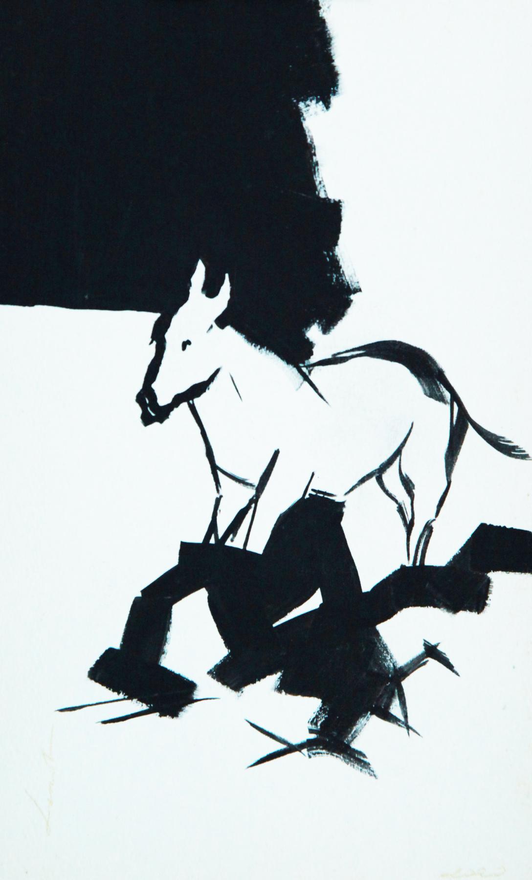 Lenok. The donkey