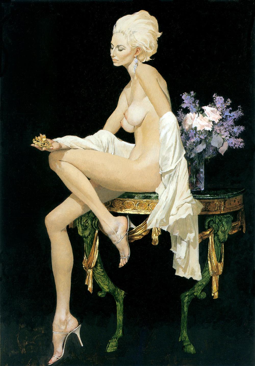 Robert McGinnis. The girl of gold