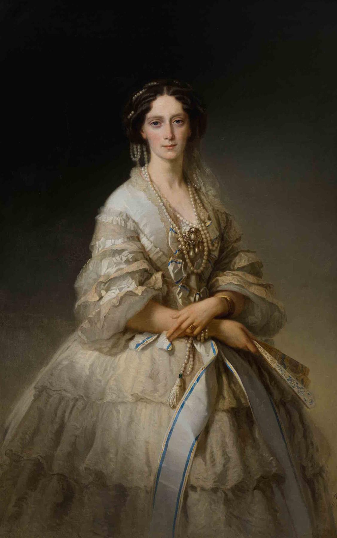 Timofey Andreevich Neff. Portrait of Empress Maria Alexandrovna