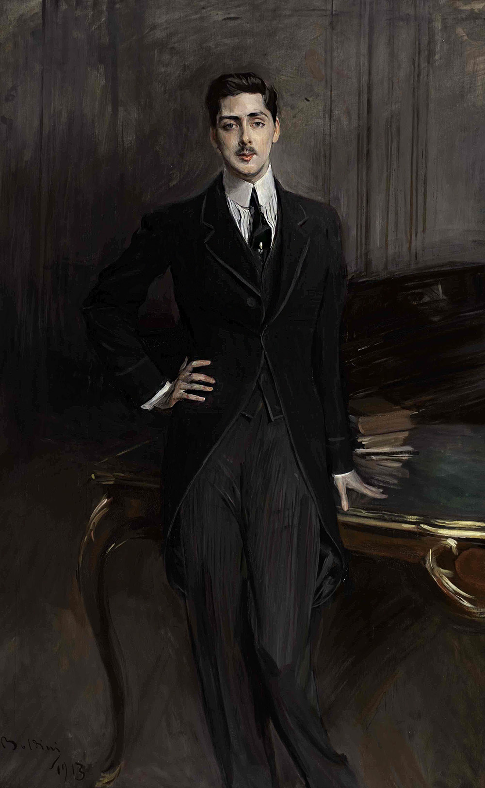 Giovanni Boldini. Portrait of Count S. P. Zubov
