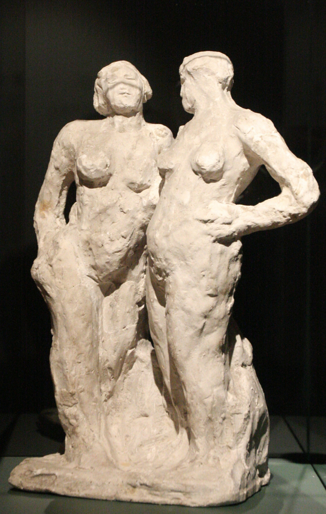Борис Данилович Королев. Two nude female figures