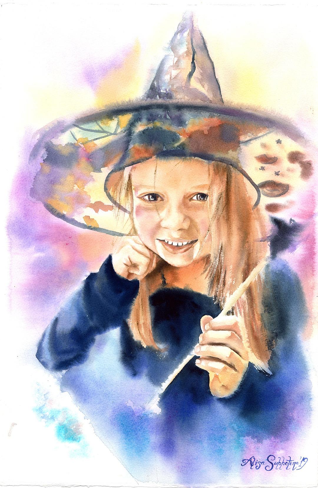 "Alisa Alexandrovna Subbotina. Series ""Young Artists"""