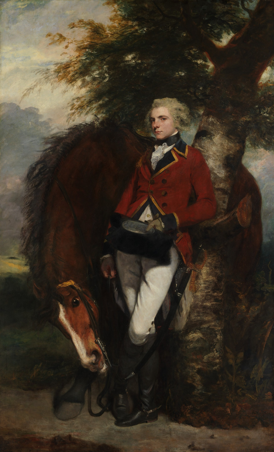 Joshua Reynolds. Portrait of Colonel George C. G. Kausmeyker