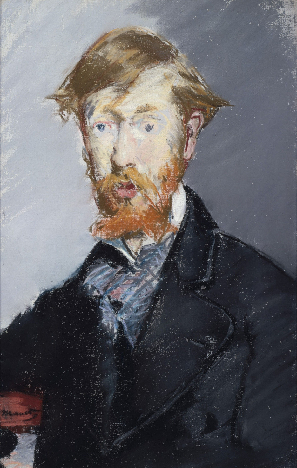 Edouard Manet. Portrait Of George Moore