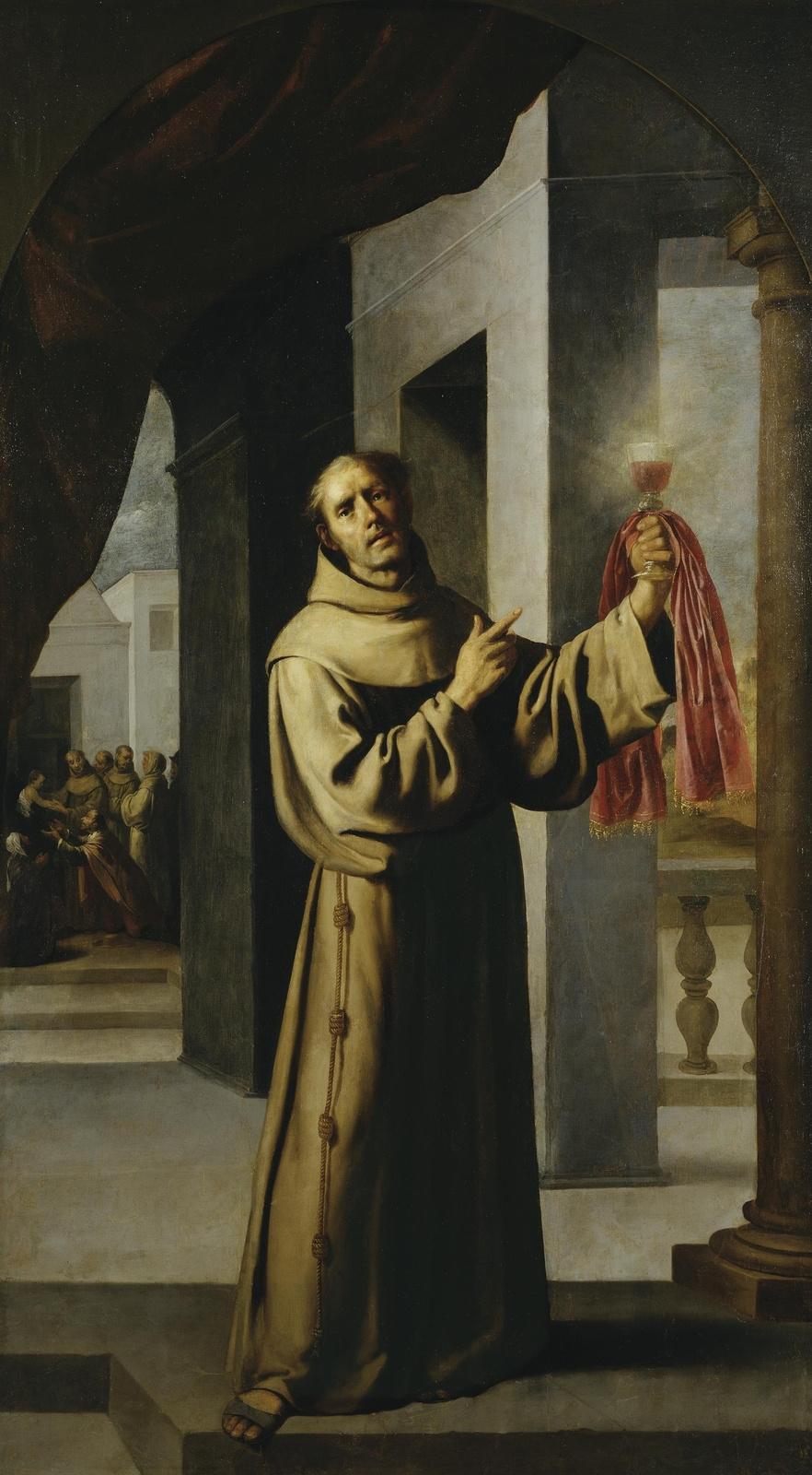 Francisco de Zurbaran. Saint James of the marches