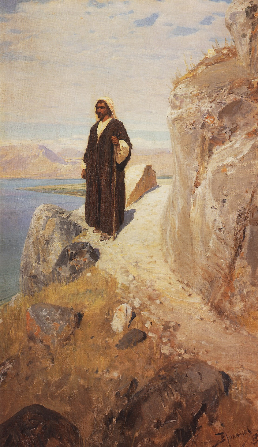 Vasily Polenov. Returned to Galilee in fortitude