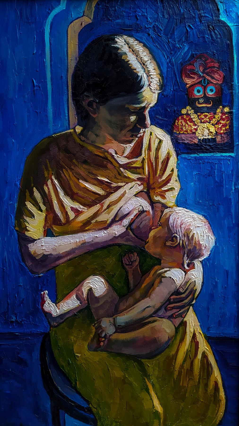 Artem Zavadsky. Mother and child