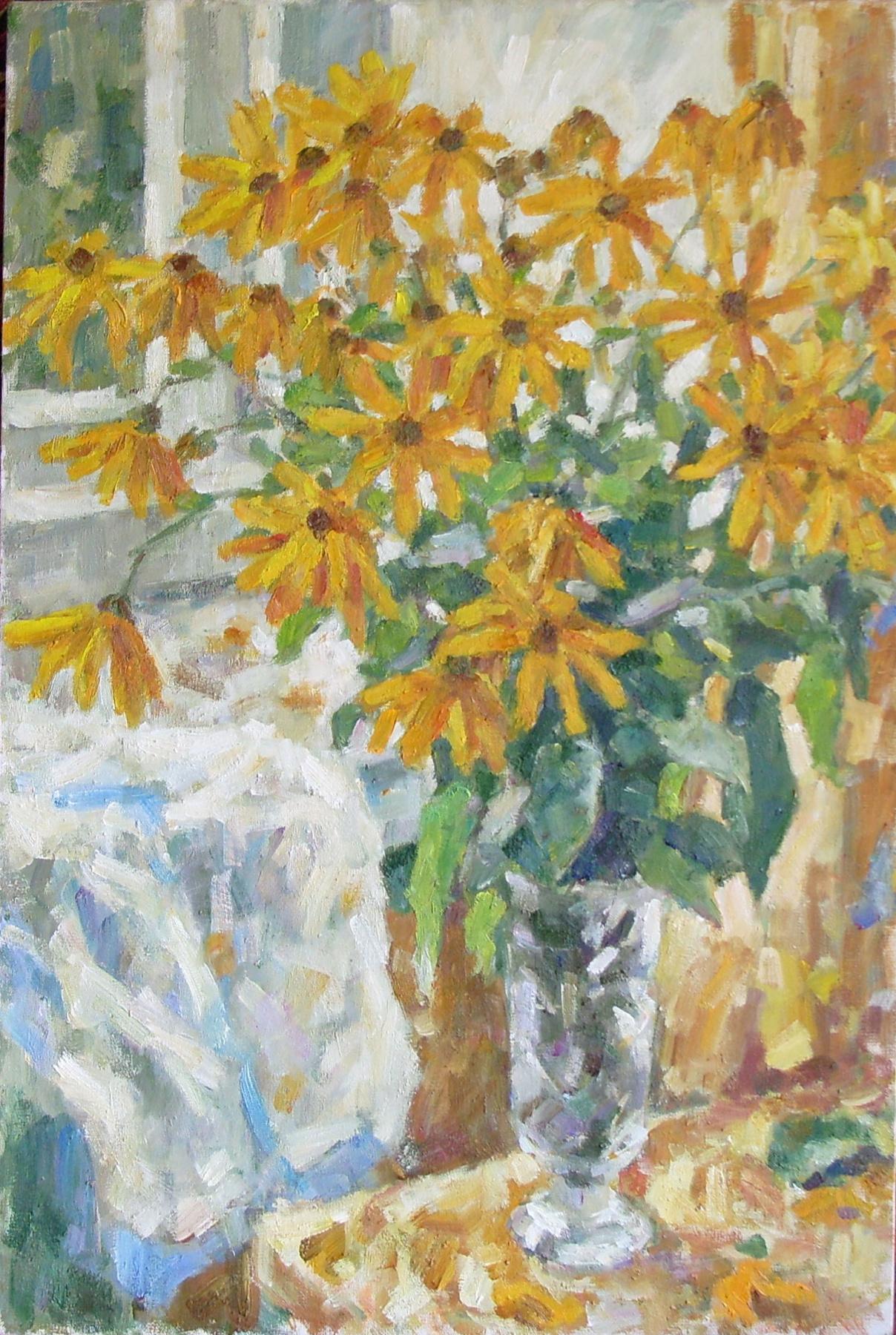 Urii Parchaikin. Желтые цветы