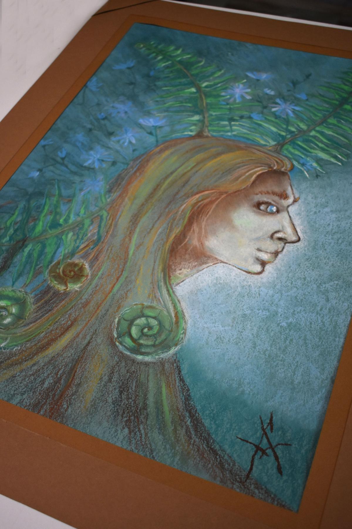 Alexandra Yuryevna Kapustina. Spirit of the forest
