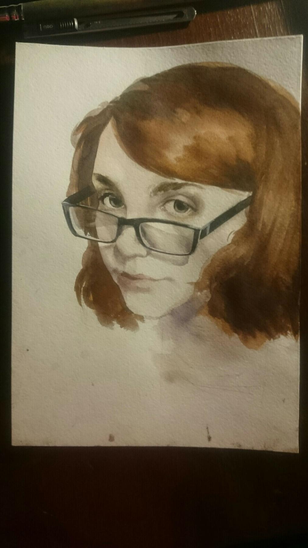 Diana Eminovna Rasulova. Portrait