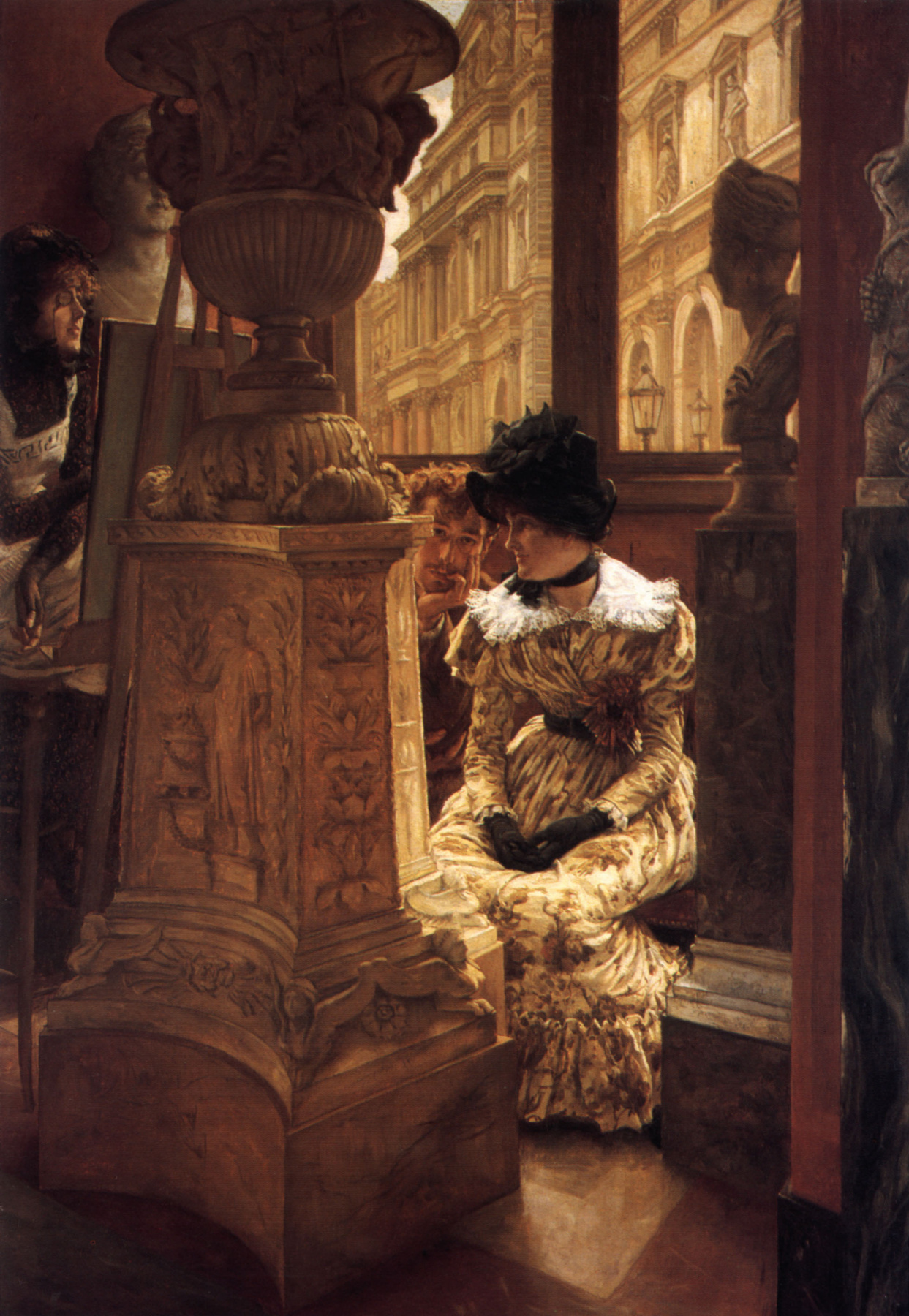 James Tissot. In The Louvre