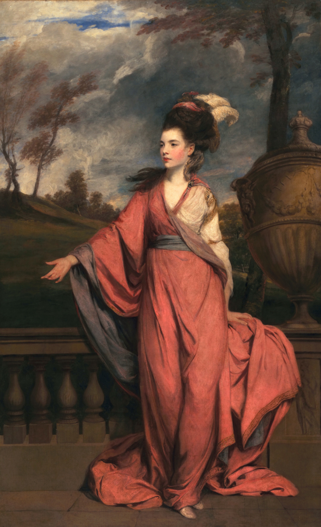 Joshua Reynolds. Portrait of Jane Fleming
