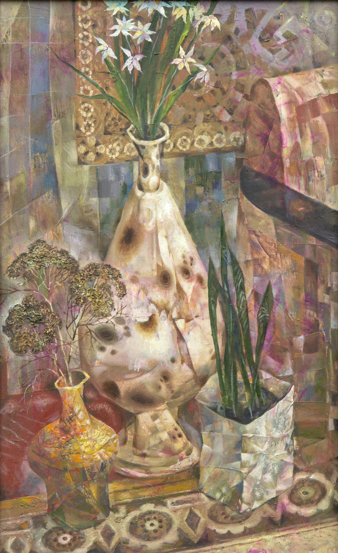 Rinat Salimzyanovich Khanafeev. Chinese vase