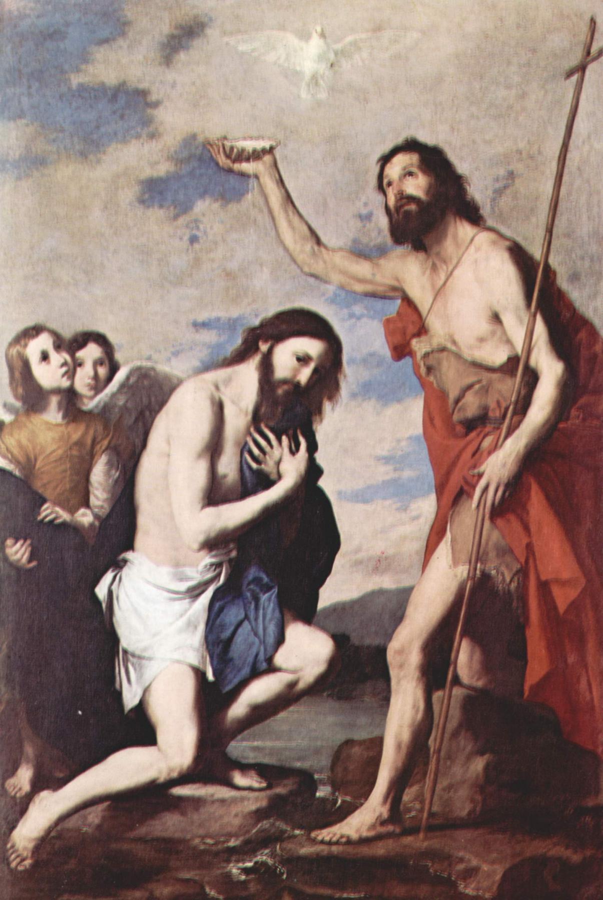 Jose de Ribera. The Baptism Of Christ