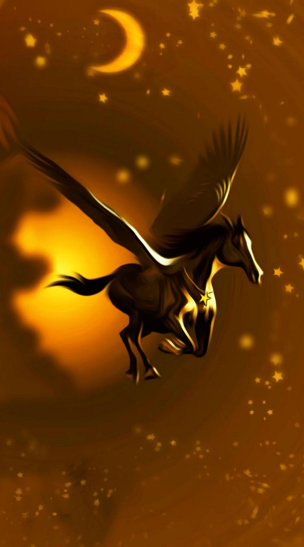 Denis Sergeyevich Ismailov. Winged horse (fragment)