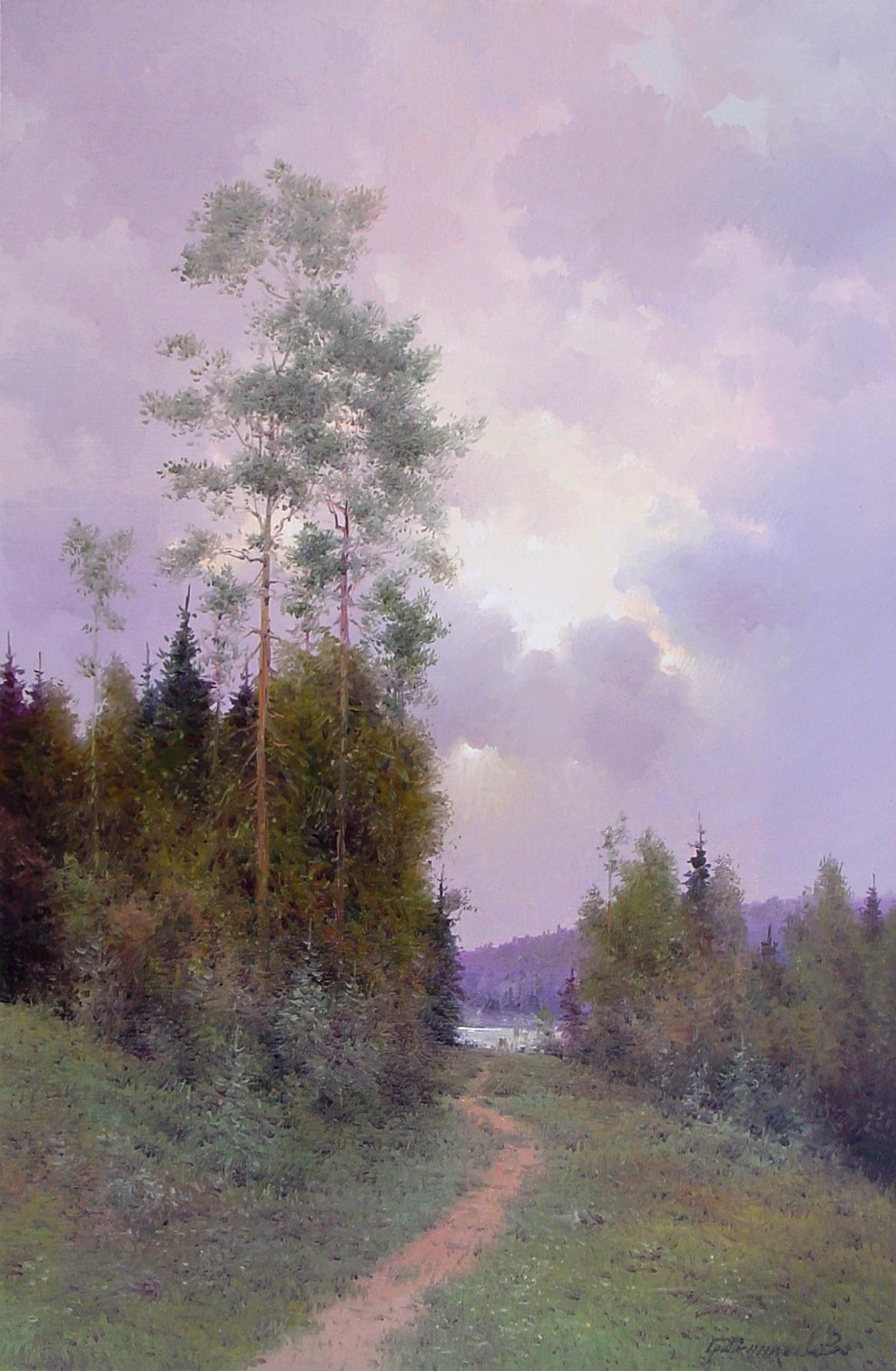 Vasily Ivanovich Gribennikov. Last ray