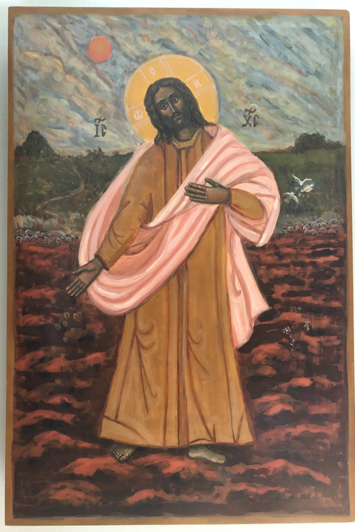 Виктория Мальшакова. Jesus Christ. Parable about the Sower.