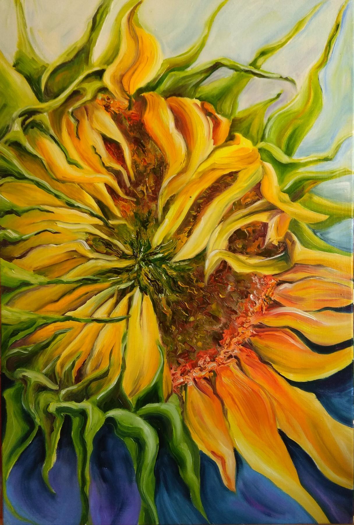 Nadezhda Anatolyevna Poleva. Sunflower