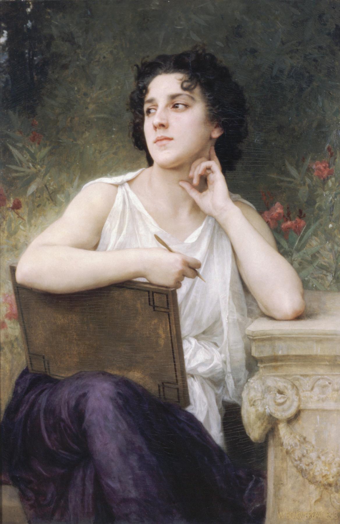 William-Adolphe Bouguereau. Inspiration