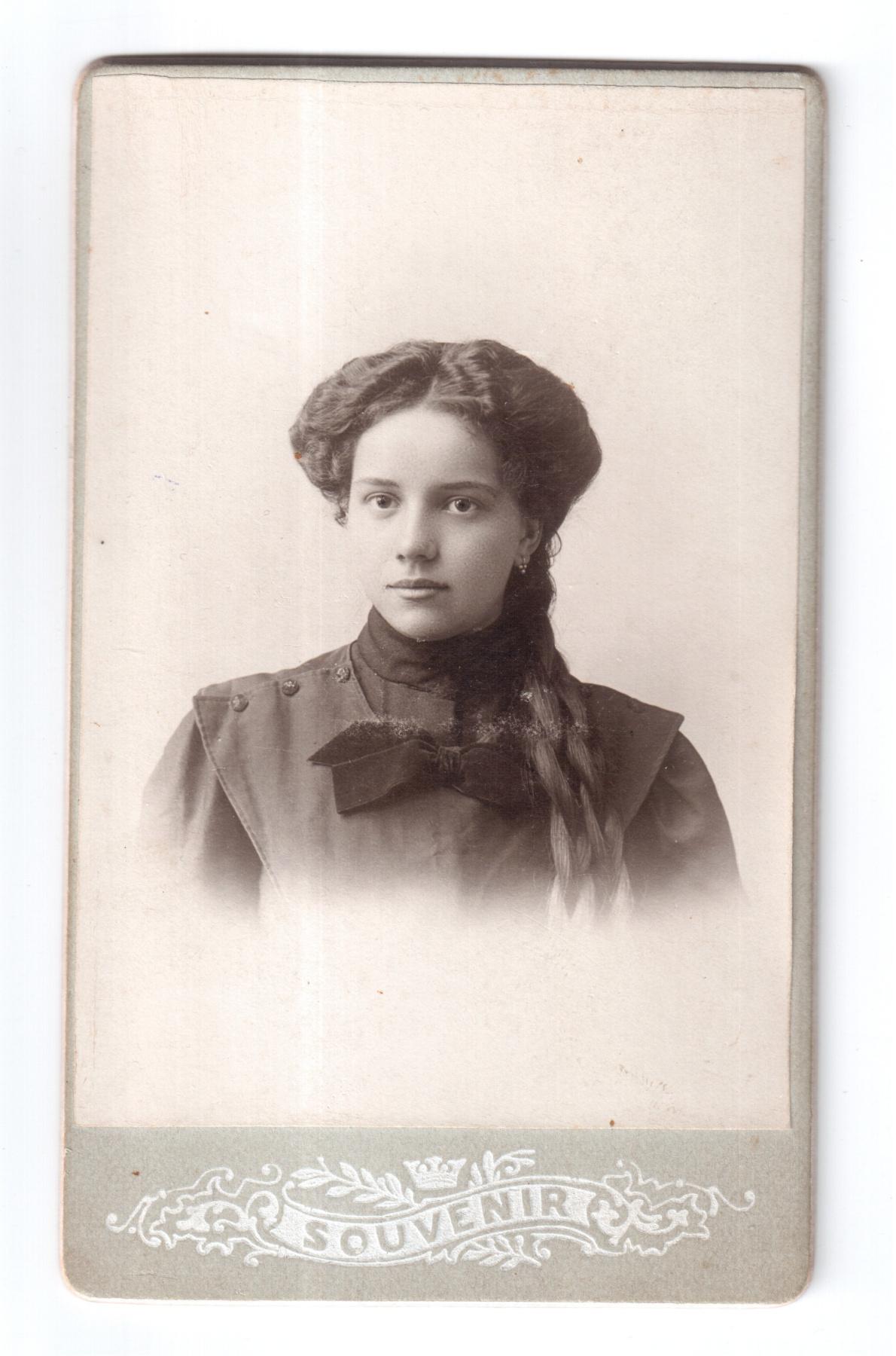 Evgenia Konstantinovna Stavrogina. Portrait