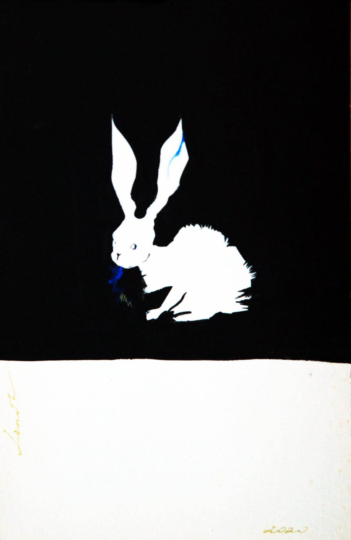 Lenok. A rabbit