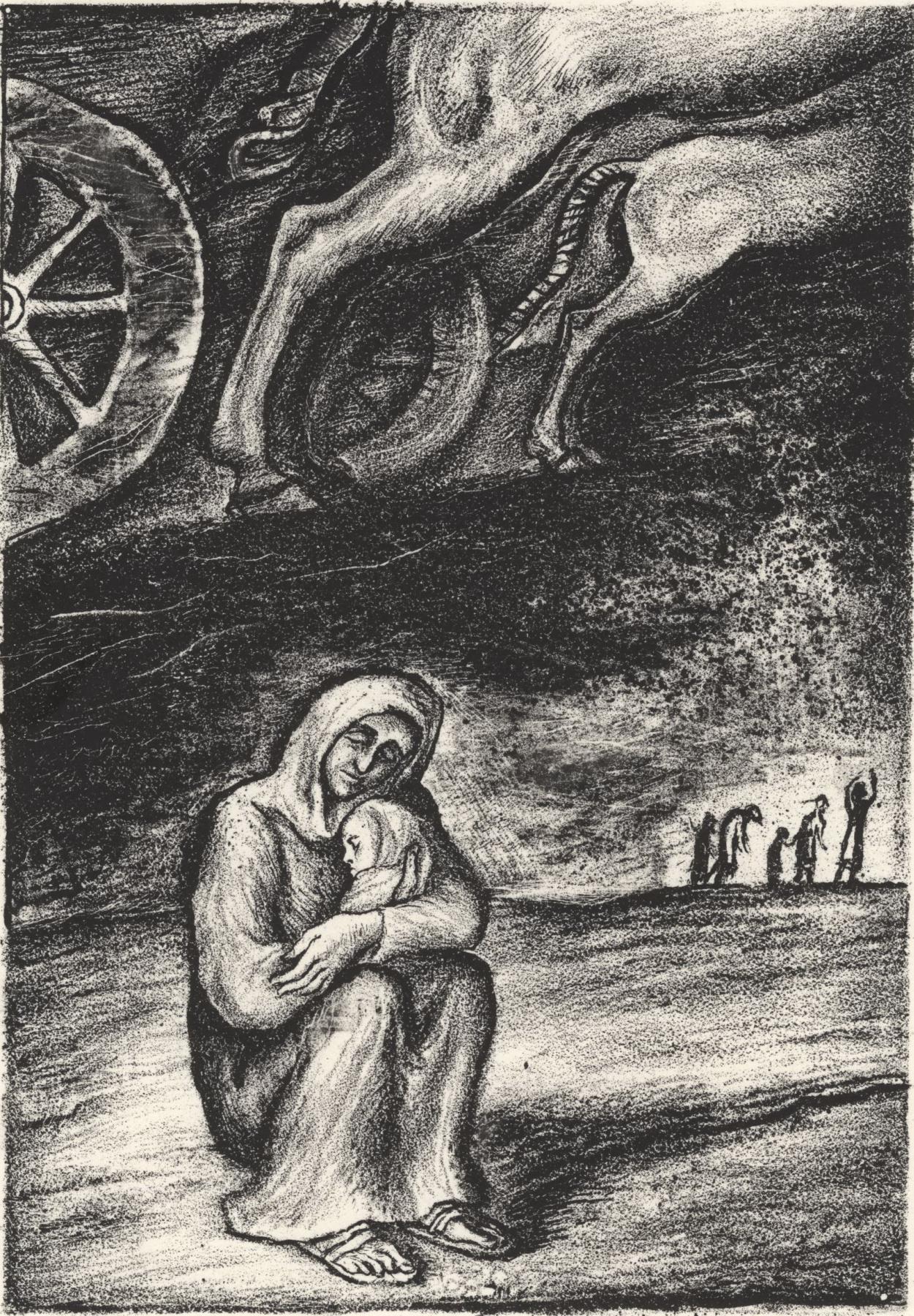 Leonid Valeryevich Stroganov. Motherhood