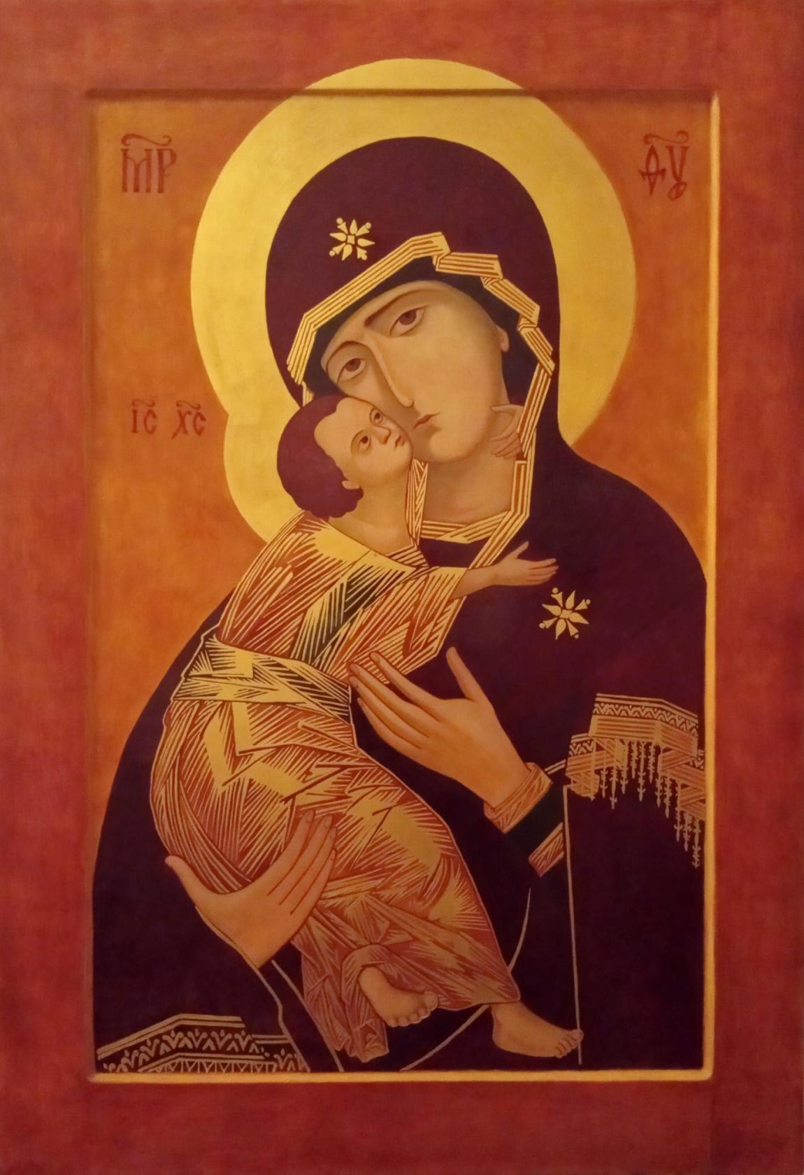 Егор Гора. Владимирская икона Божией Матери