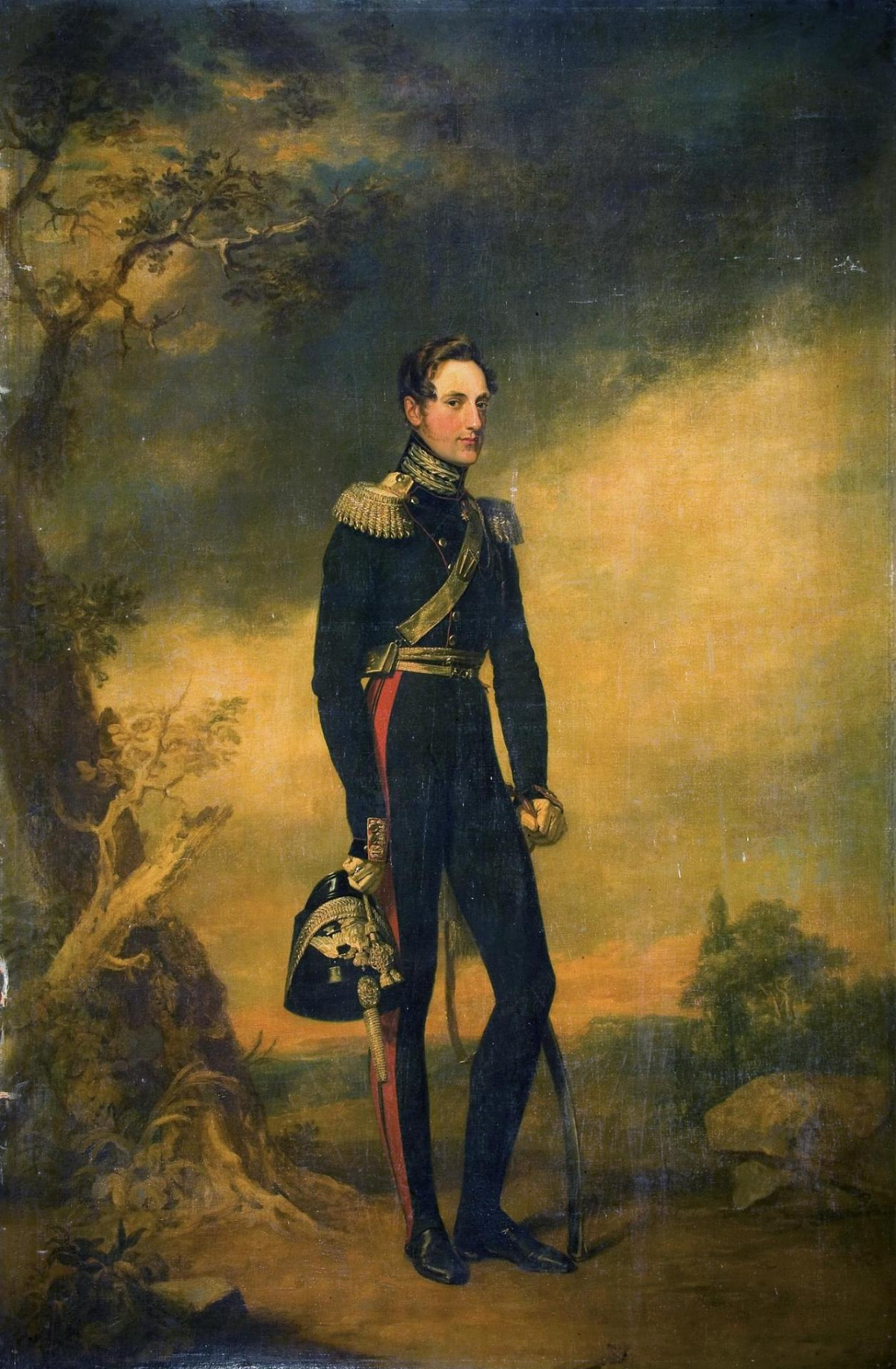 George Dow. Portrait of Grand Duke Nikolai Pavlovich