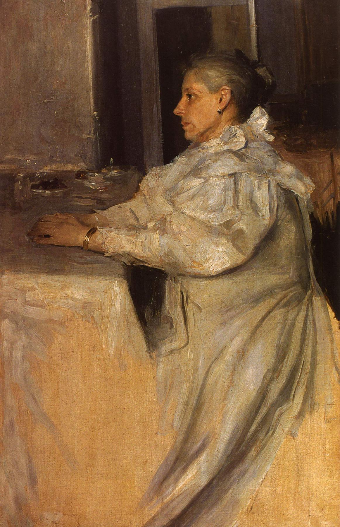 Alexander Murashko. Portrait Of E. K. Murashko