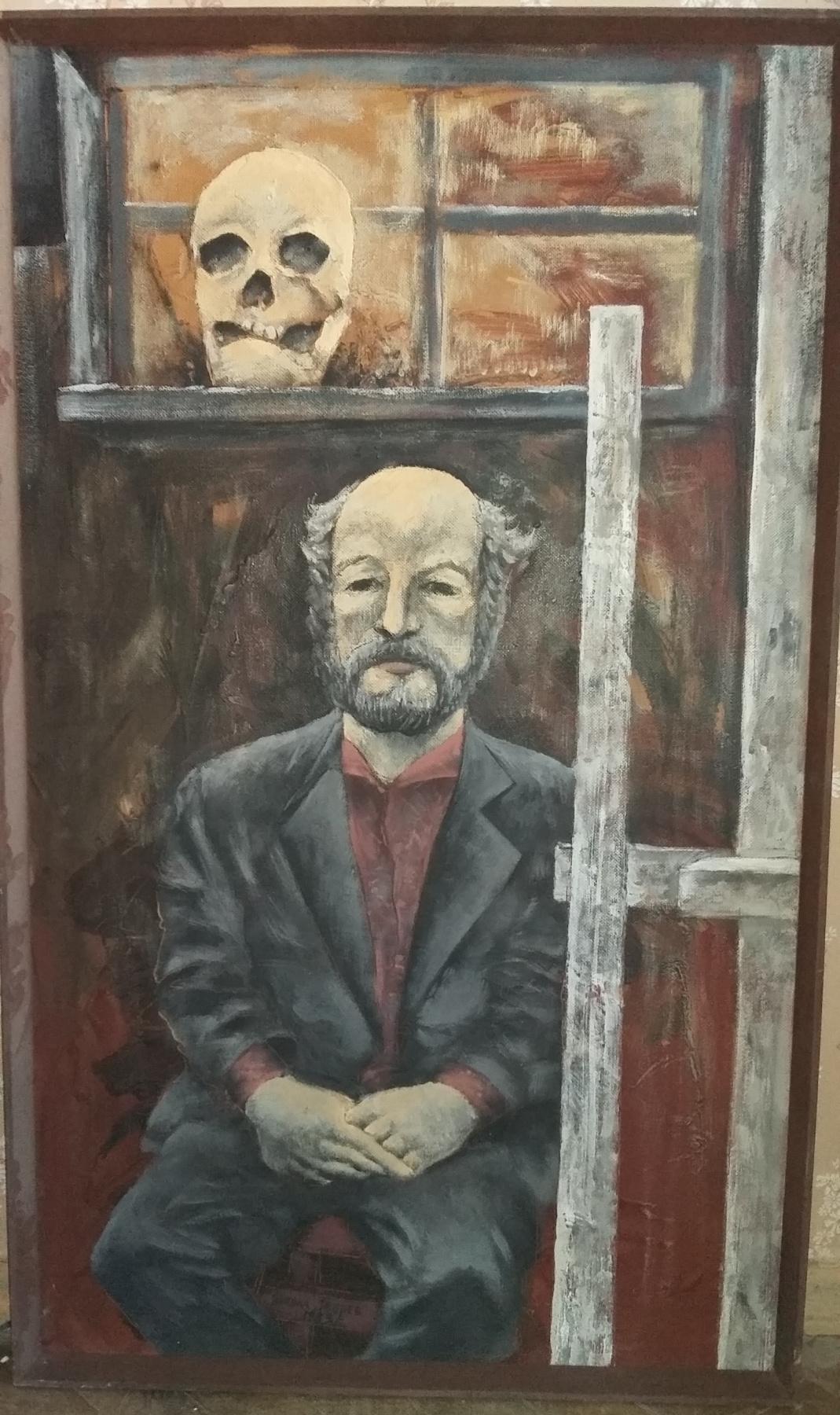 Nikolay Zverev. Bald devil