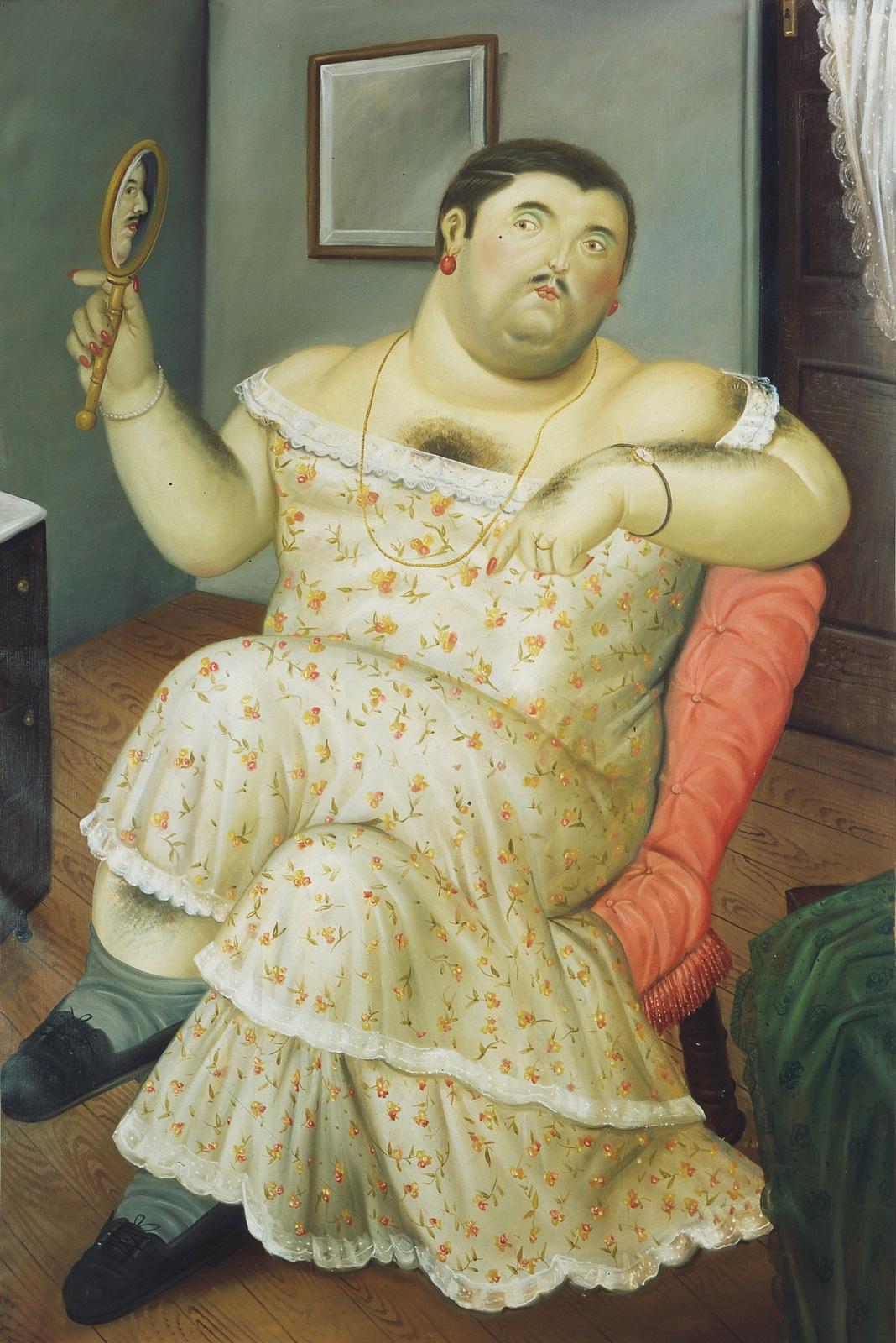 Fernando Botero. Melancholy