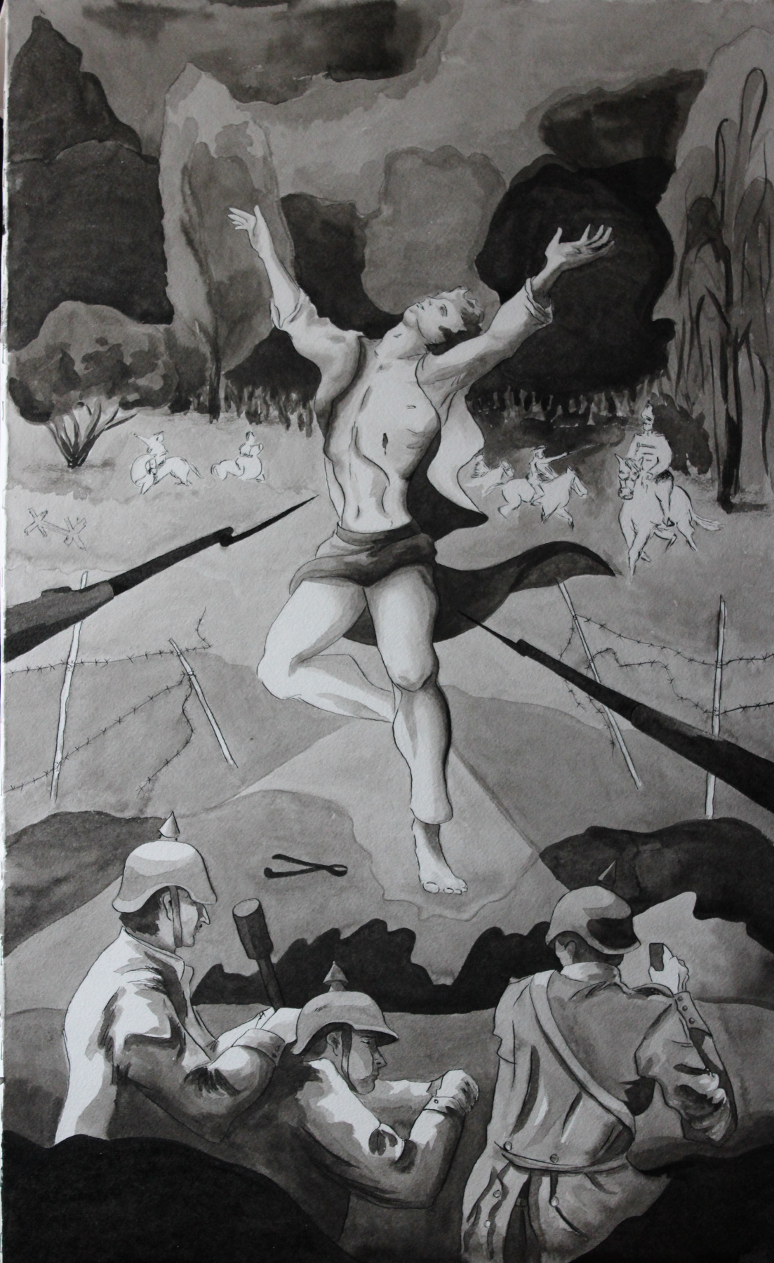 Varvara Nikolaevna Ivanova. Brusilovsky breakthrough