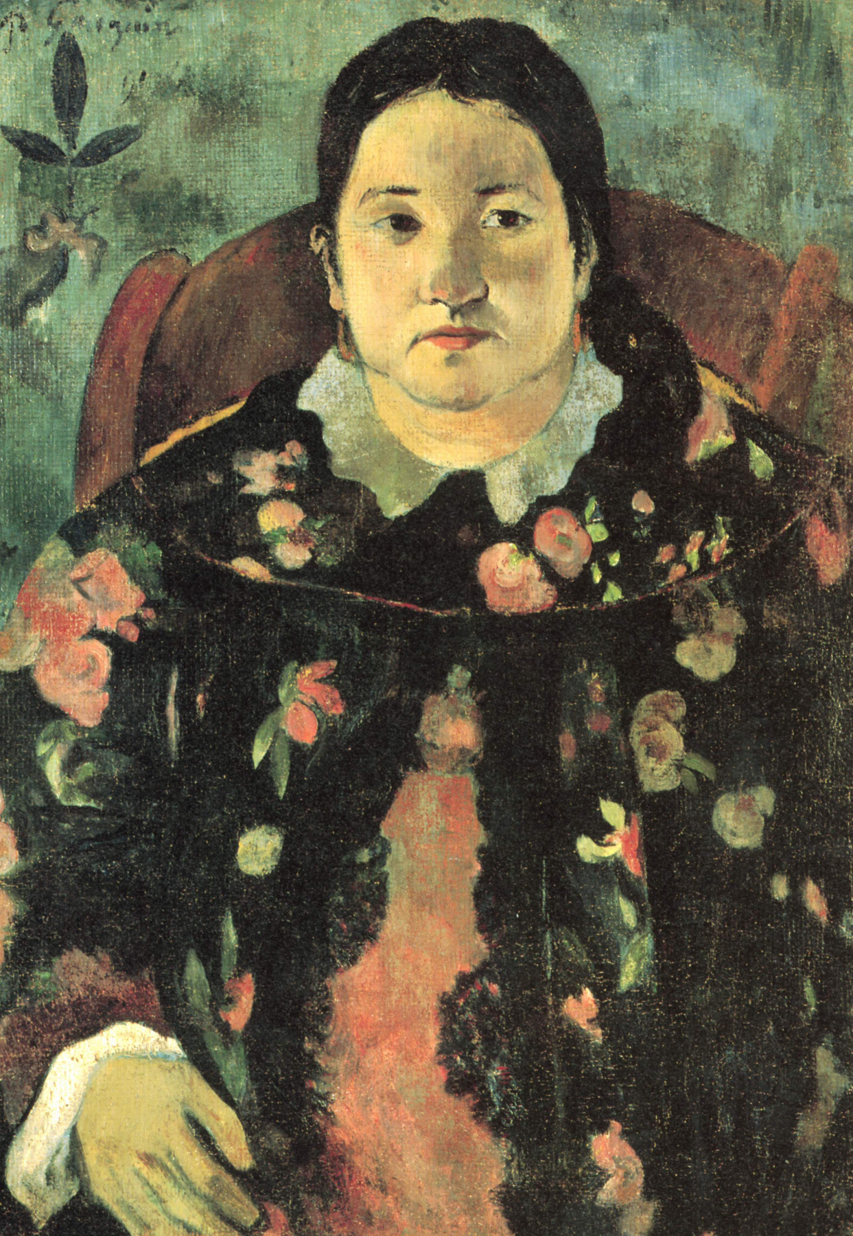 Paul Gauguin. Portrait Of Suzanne Bambridge