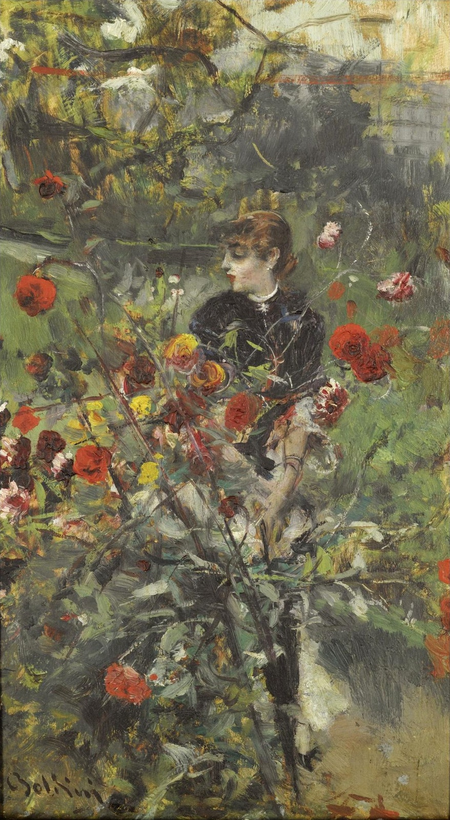 Giovanni Boldini. Summer roses