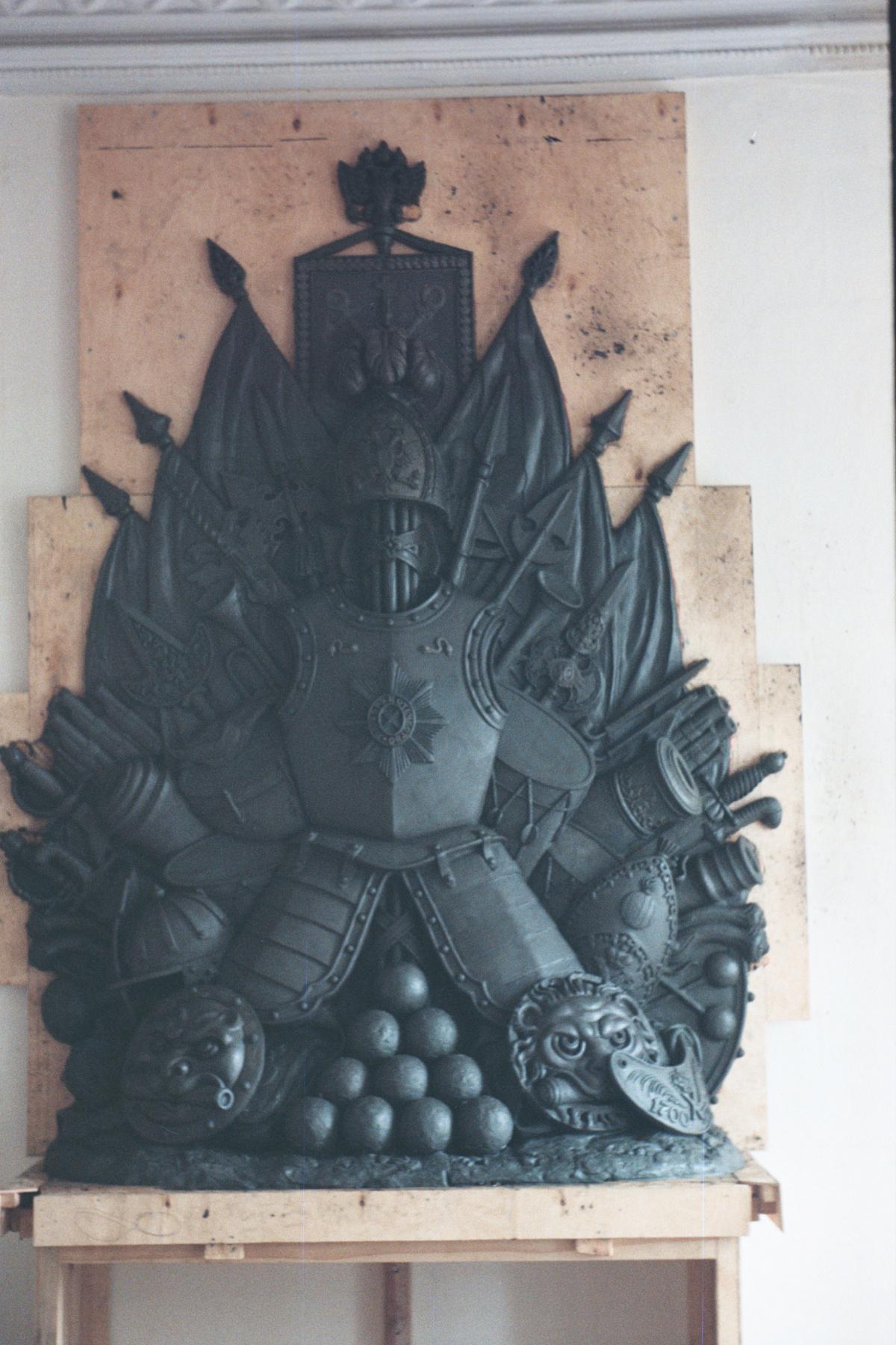 Александр Сергеевич Кривонос. Sculpture. Kremlin. Advance hall.