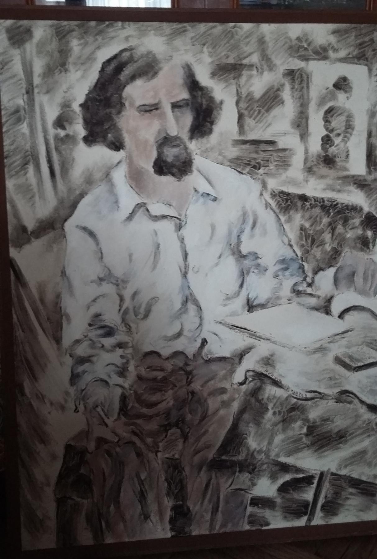 Nikolay Zverev. White poet
