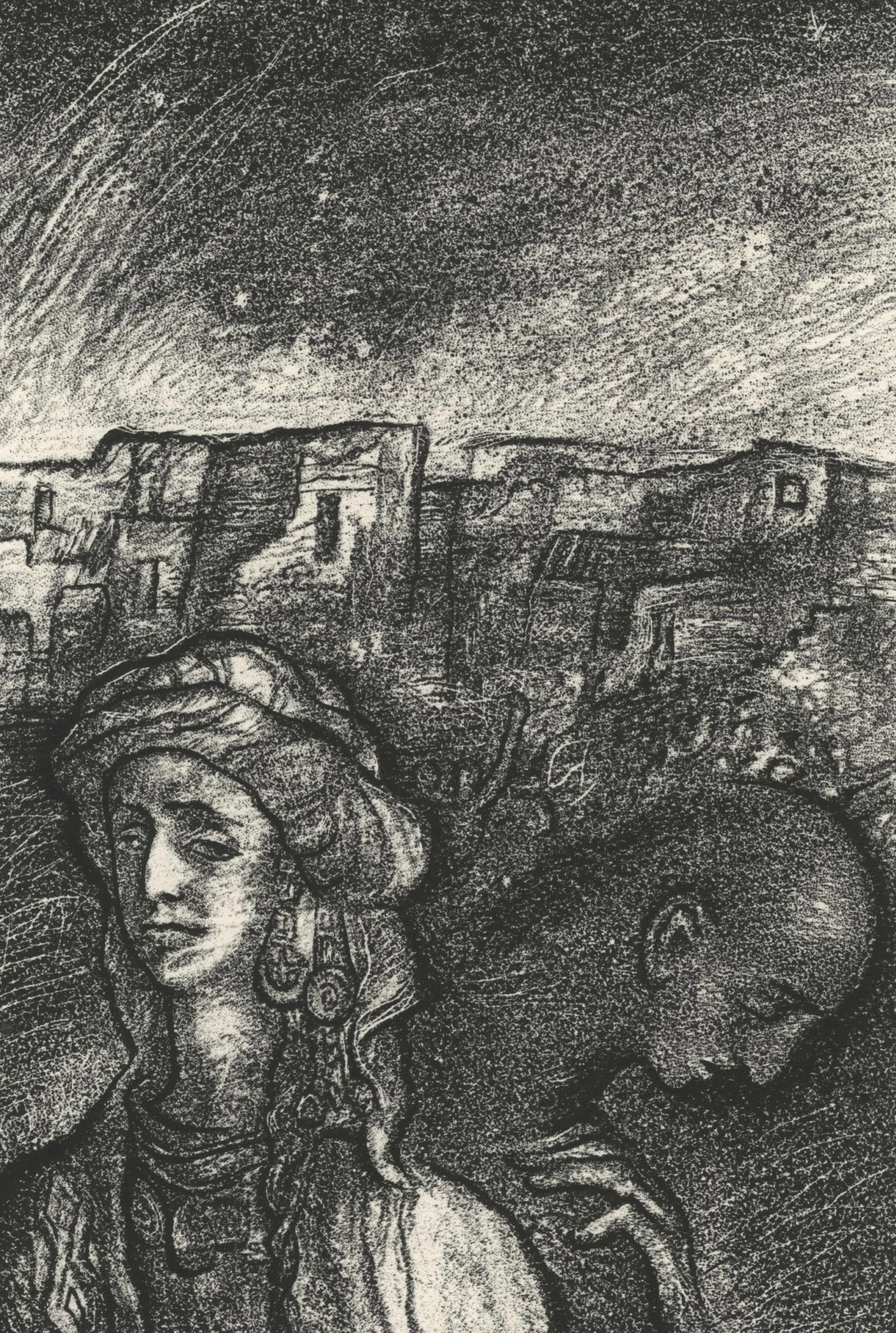 Leonid Valeryevich Stroganov. Two women