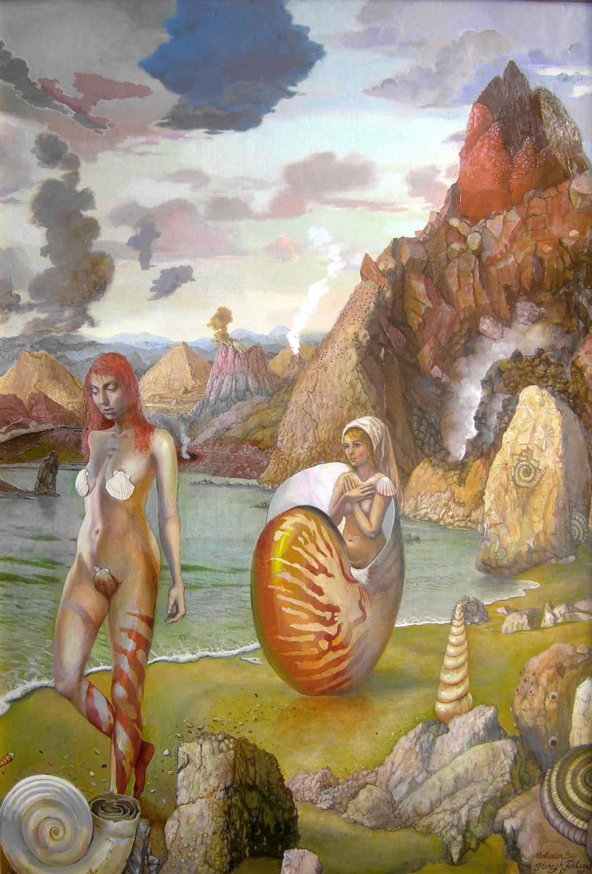 "Henryk Michael Fantazos. ""Molluscan Bay"""
