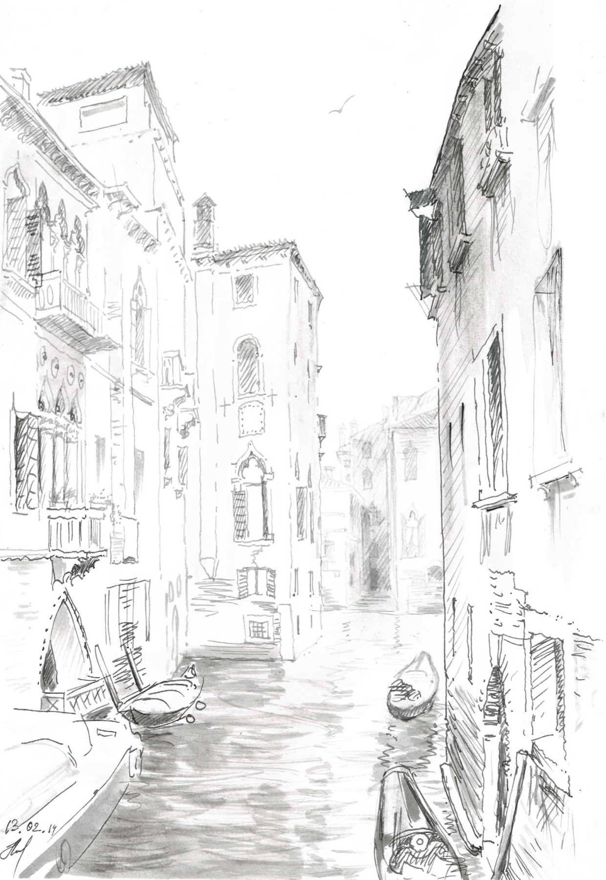 Andrey Noarov. Venice. Channel.