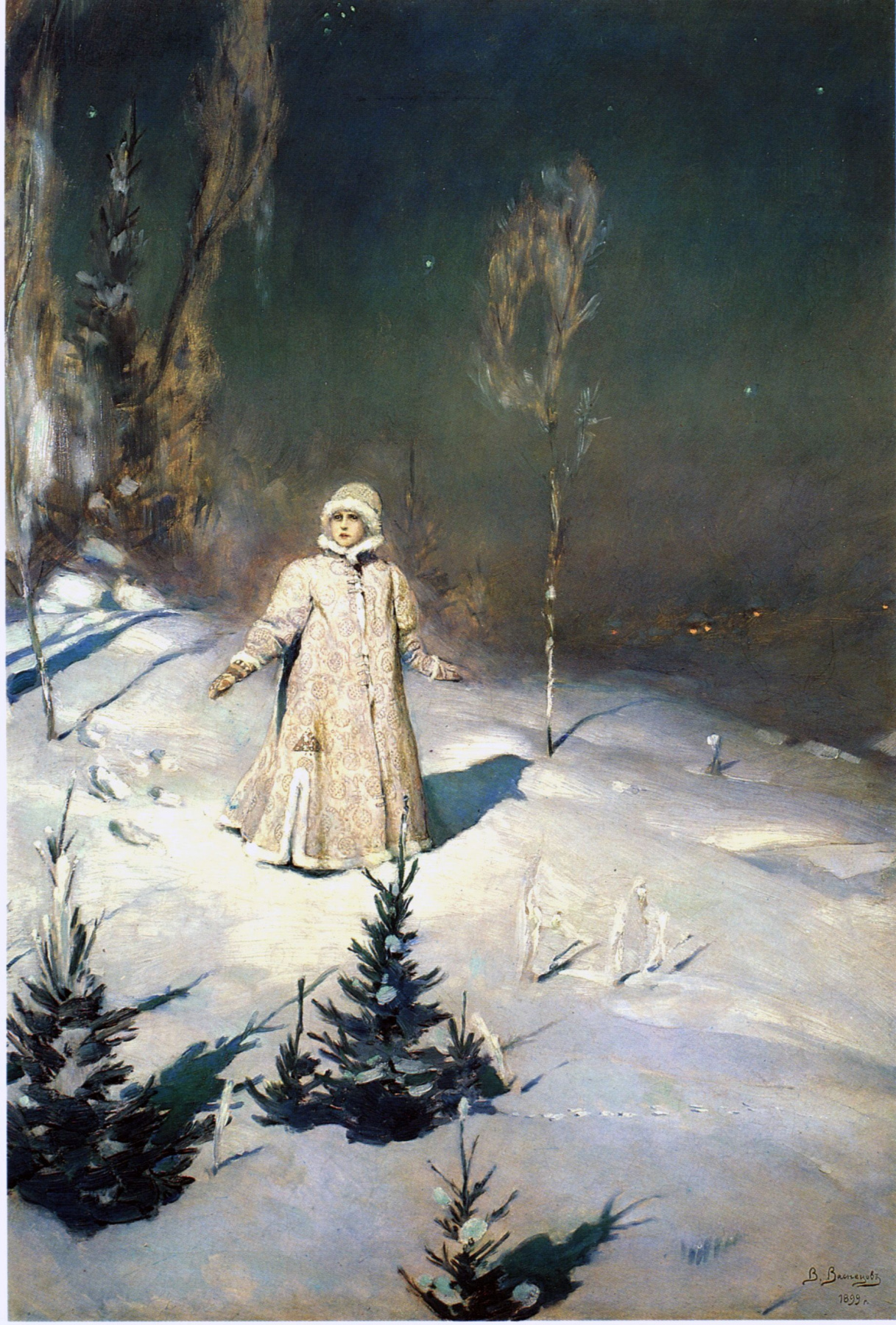 Victor Mikhailovich Vasnetsov. Maiden