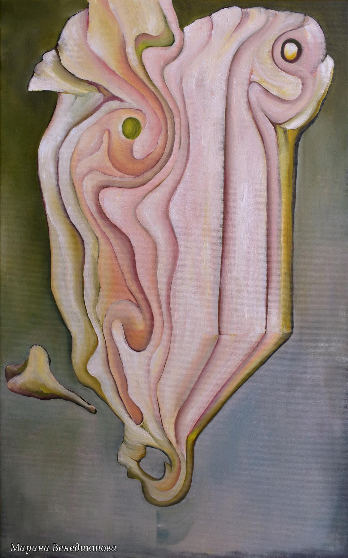 Marina Venediktova. Wings of wind-1, original oil painting