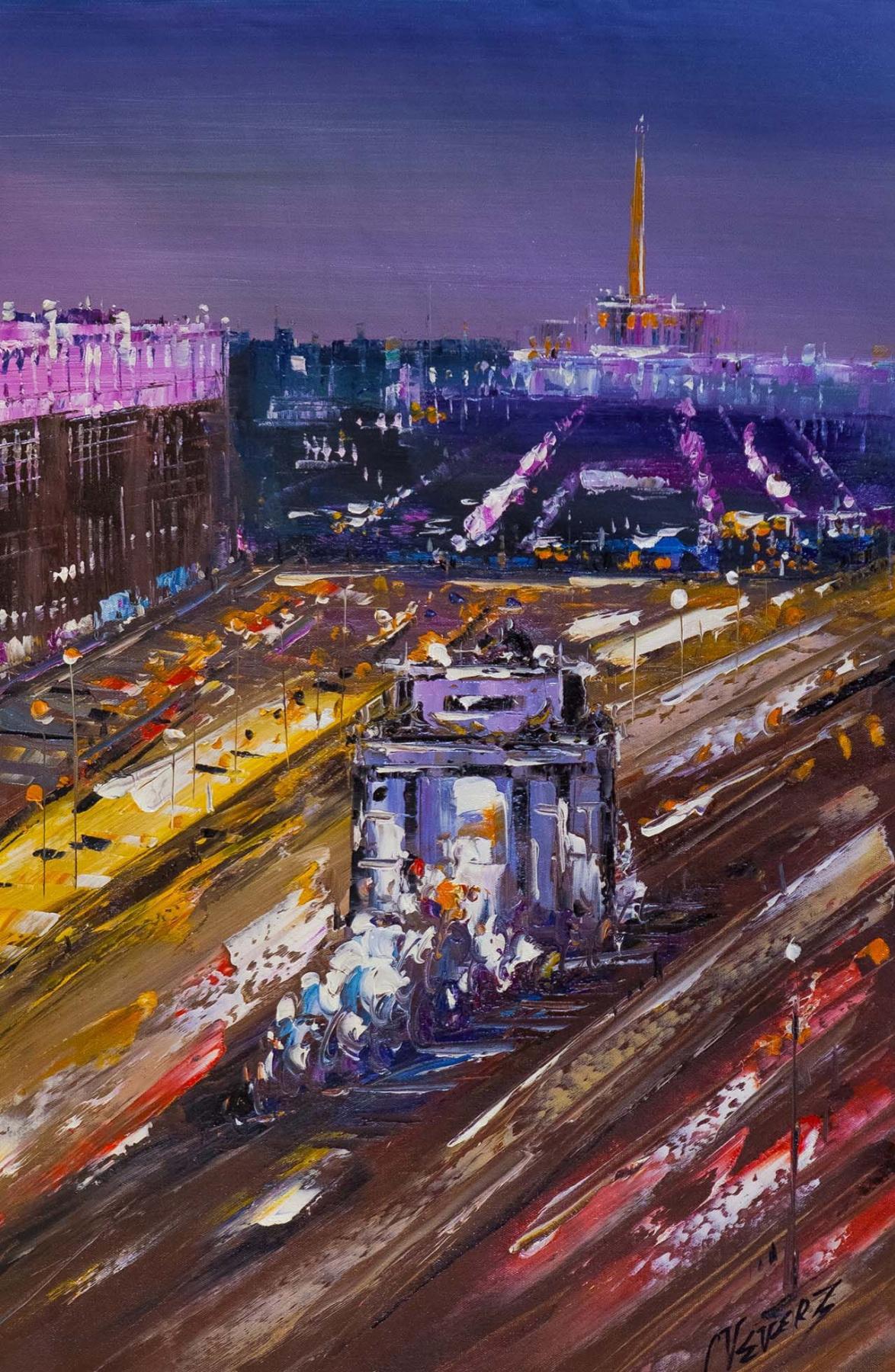 (no name). Bird's eye view of the Arc de Triomphe