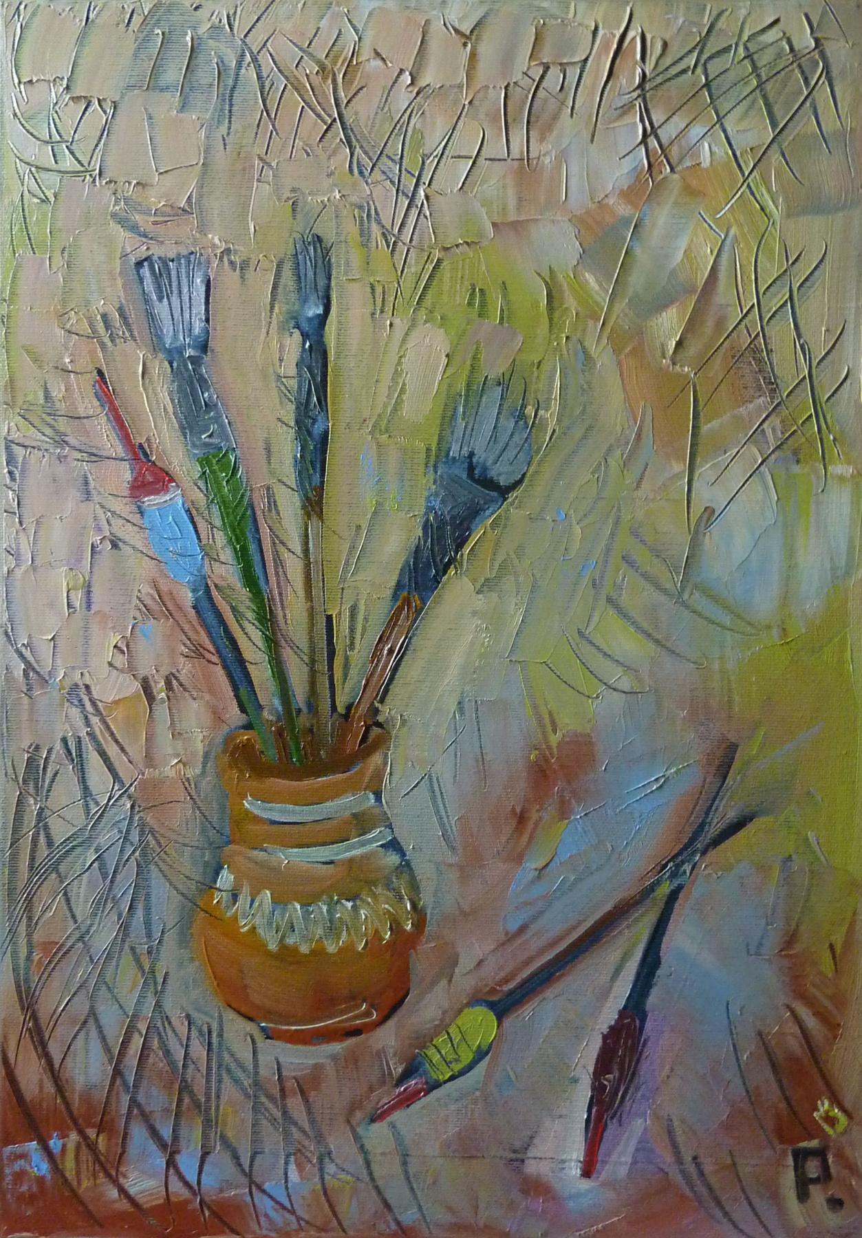 Svyatoslav Ryabkin. Brushes and floats Brushes and floats