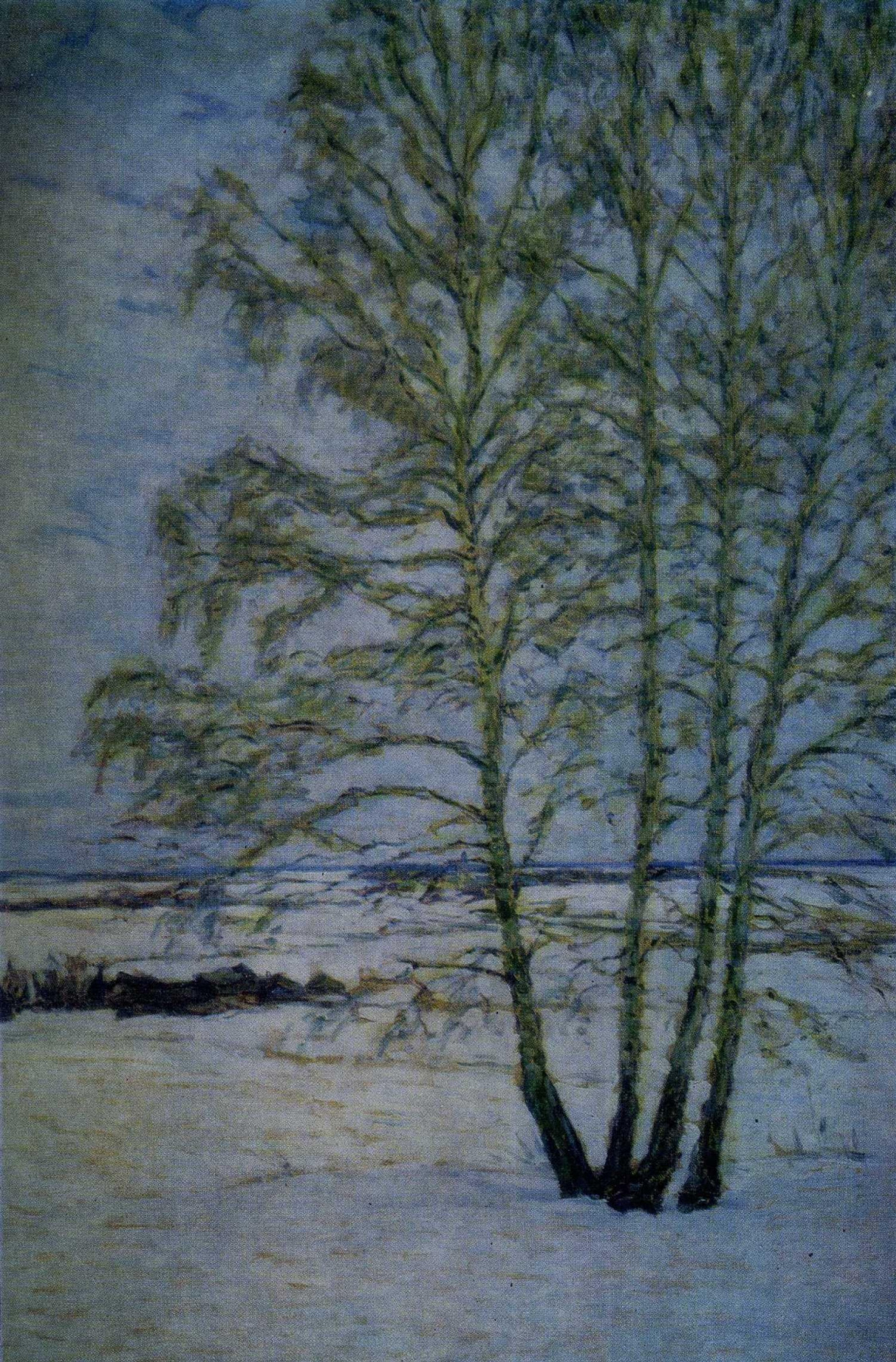 Nikolay Vasilyevich Mescherin. Thaw. February