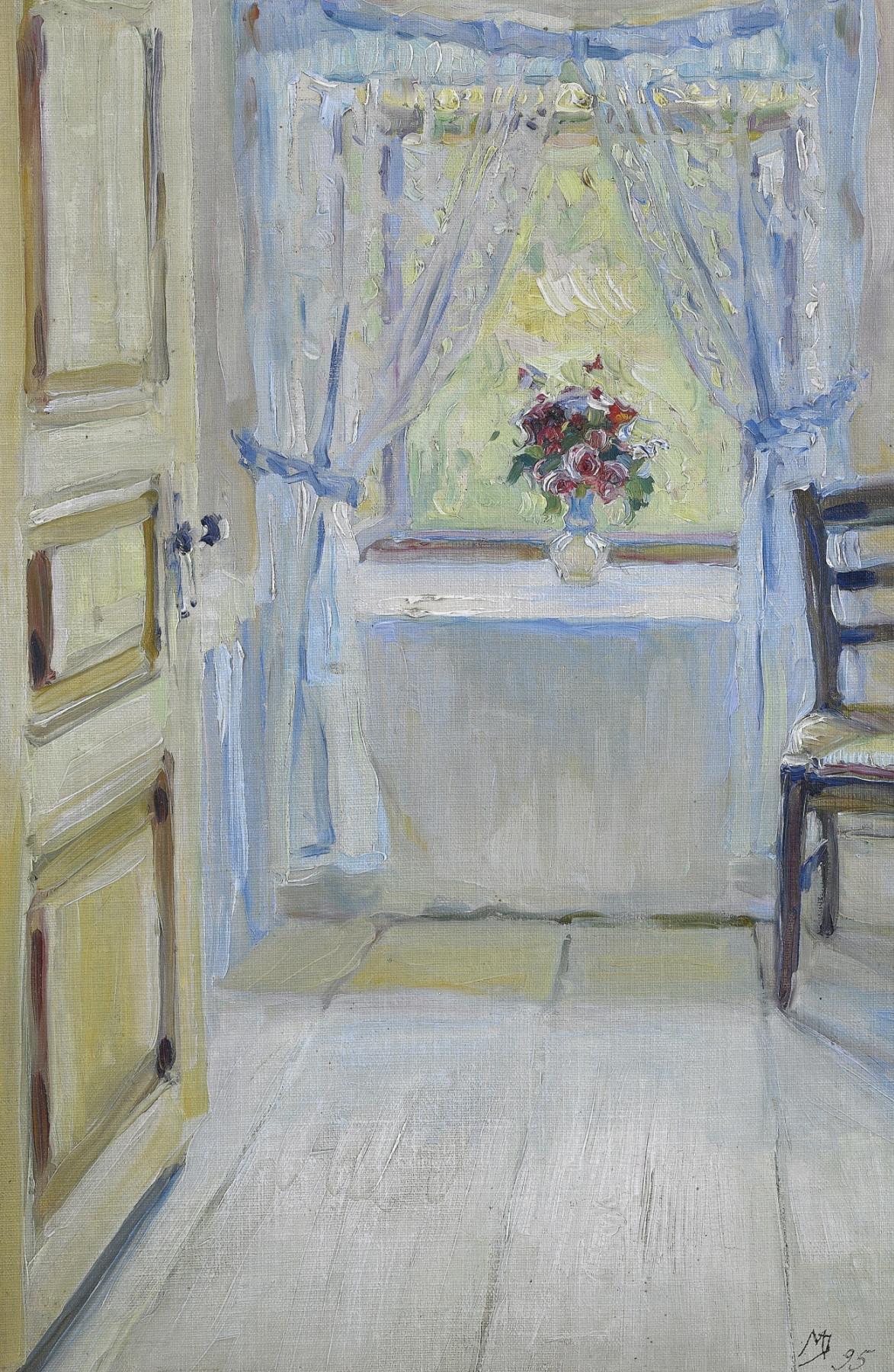 Maria Vasilievna Yakunchikova-Weber. Bouquet on the window